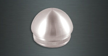 Round End Cap Stainless Steel
